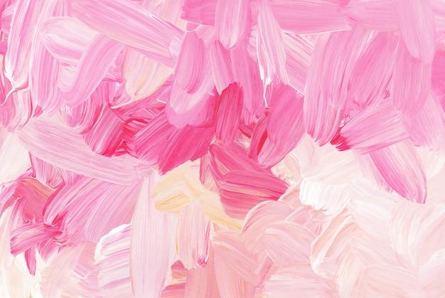 Abstracte kleurrijke penseelstreken textuur als achtergrond. Premium Foto