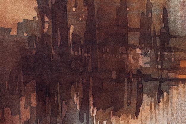 Abstracte kunst donkere bruine kleuren als achtergrond. Premium Foto