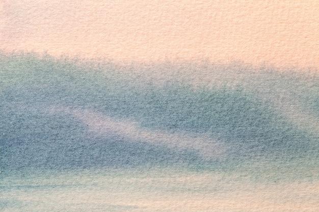 Abstracte kunst licht roze en blauwe kleuren als achtergrond. Premium Foto