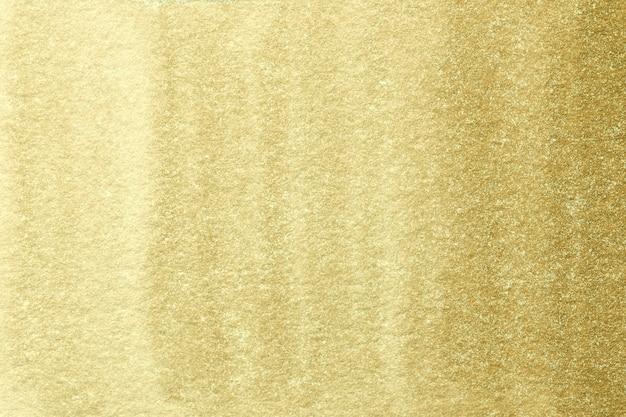 Abstracte kunst lichtgele en gouden kleuren. Premium Foto