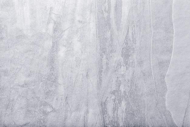 Abstracte kunst lichtgrijze en zilveren kleur als achtergrond Premium Foto