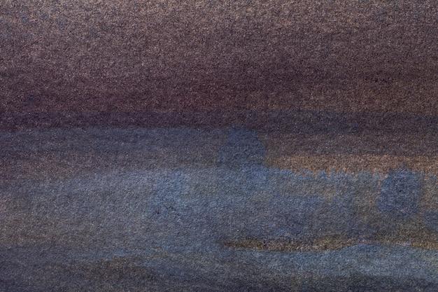 Abstracte kunst marineblauwe en donkerbruine kleuren. Premium Foto