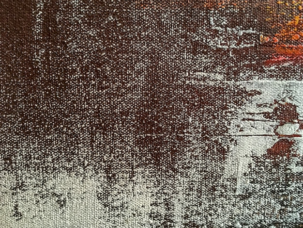 Abstracte kunstachtergrond met bruine en witte kleuren Premium Foto