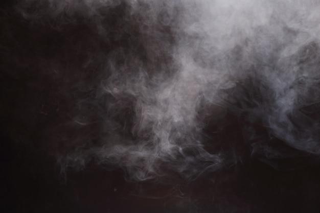 Abstracte rook wolken achtergrond, alle beweging wazig Premium Foto