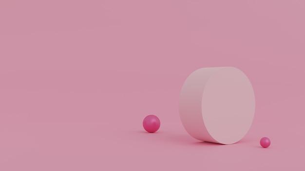 Abstracte scène voor productvertoning Premium Foto