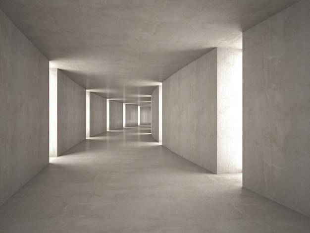 Abstracte tunnel Premium Foto