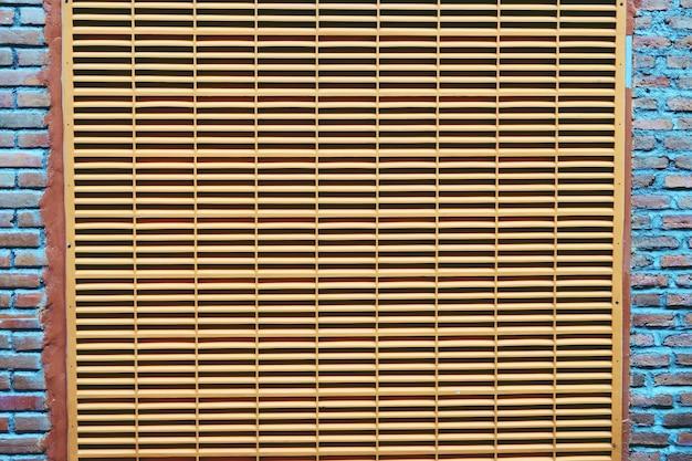 Abstracte ventilatie als achtergrond op muur dichte omhooggaand Premium Foto