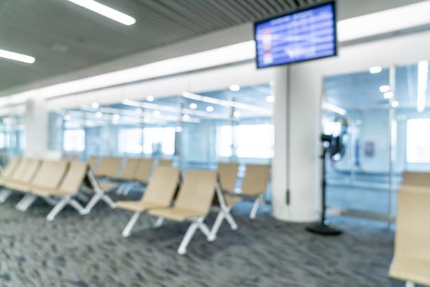 Abstracte vervagen luchthaven voor achtergrond Premium Foto