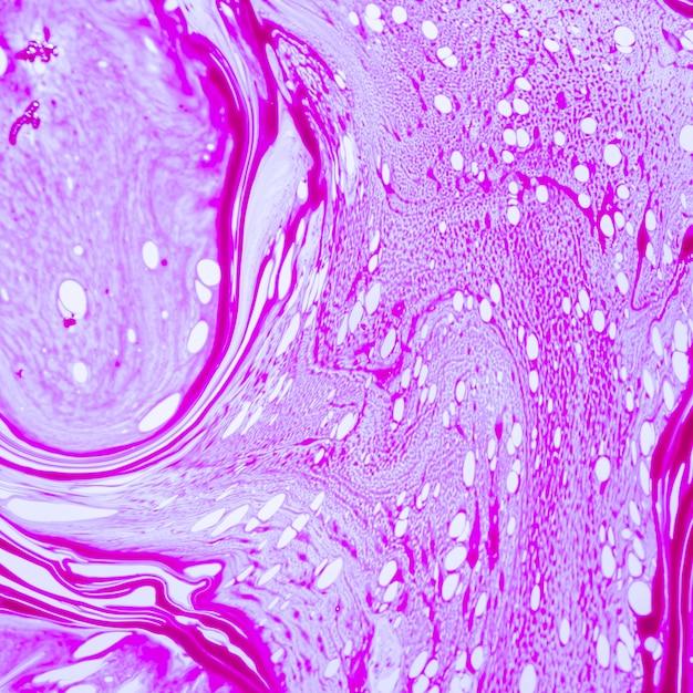 Abstracte violette lijnen en transparante stippen Gratis Foto