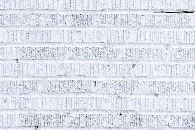 Abstracte witte bakstenen muurachtergrond Gratis Foto