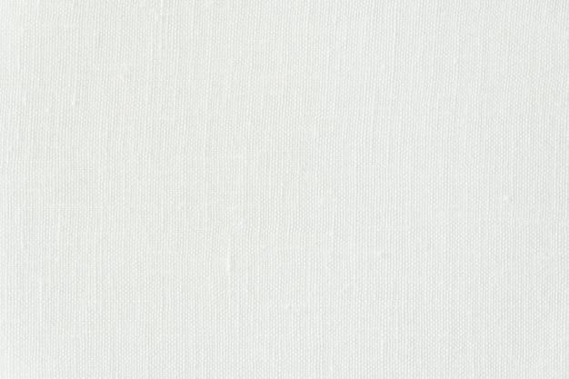 Abstracte witte canvastexturen en oppervlakte Gratis Foto