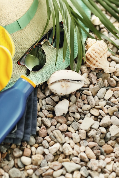 Accessoires voor zomervakanties Gratis Foto