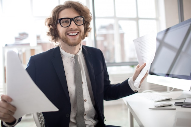 Accountant per werkplek Gratis Foto