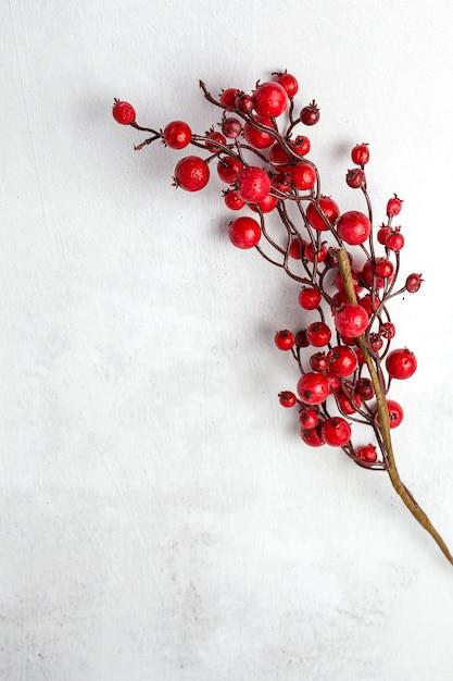 Achtergrond met kerstdecoratie samenstelling Premium Foto