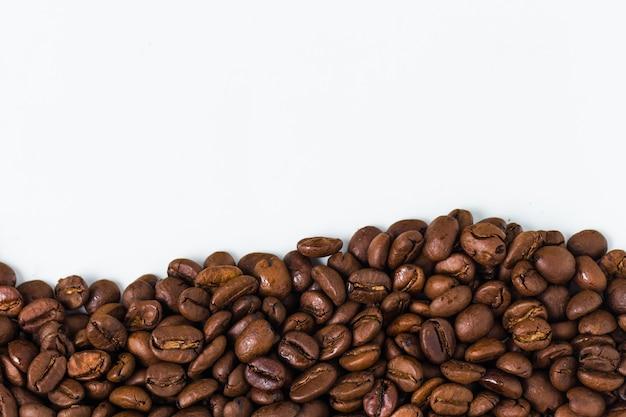 Achtergrond met koffiebonen Gratis Foto