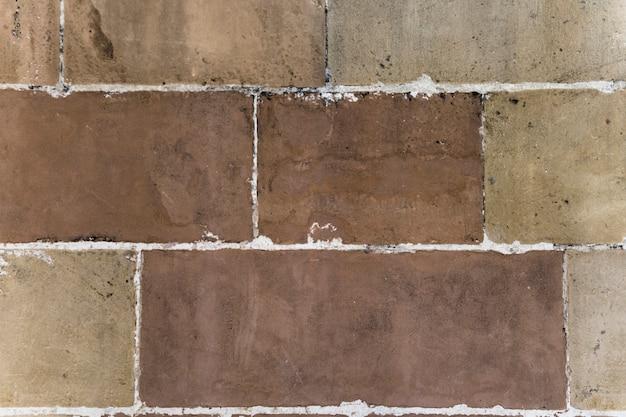 Achtergrond van concrete muur met witte versiering Gratis Foto