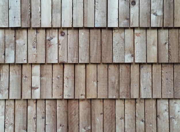 Achtergrond van geordende houten planken Gratis Foto