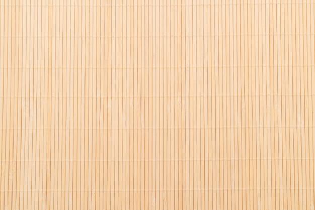 Achtergrond van het bamboe oppervlak van de mat Gratis Foto