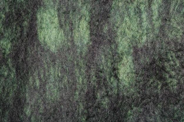 Achtergrond van natuurlijke merinoswol vervilte close-up Premium Foto