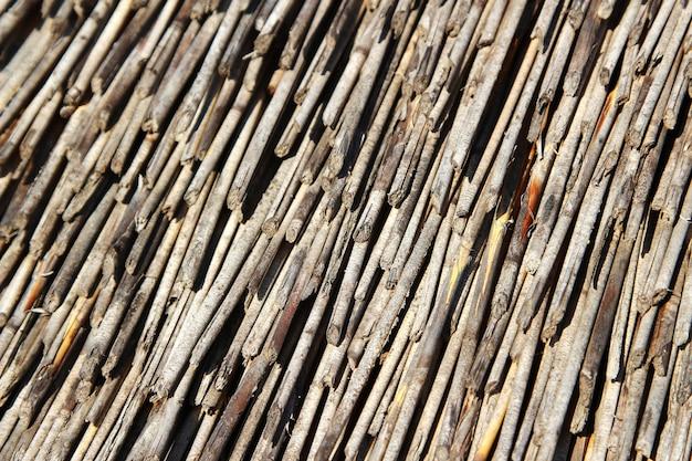 Achtergrond van veel bouwmateriaal met interessante texturen Gratis Foto