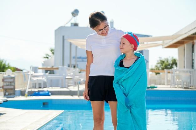 Actieve gezonde levensstijl bij kinderen. Premium Foto