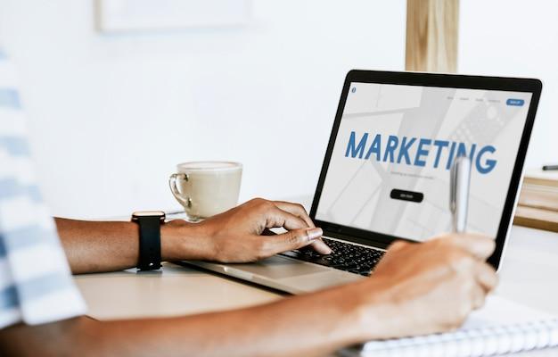 Afdeling marketing Premium Foto