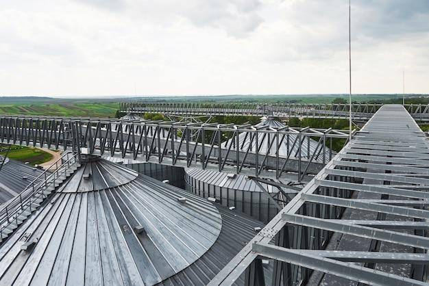 Agrarische silo Gratis Foto