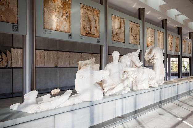 Akropolismuseum in athene Premium Foto
