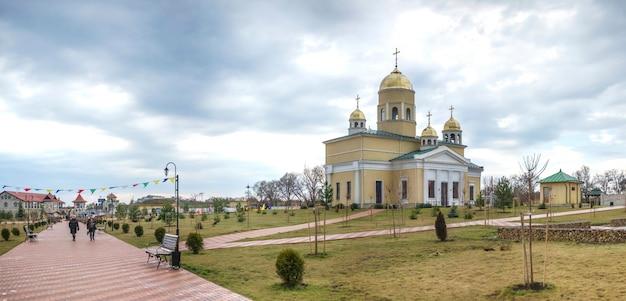 Alexander nevsky-kerk in bender, transnistrië Premium Foto
