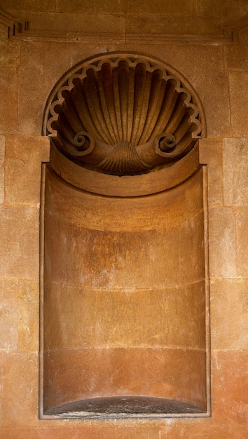 Alhambra carlos v-nichedetail in granada Premium Foto