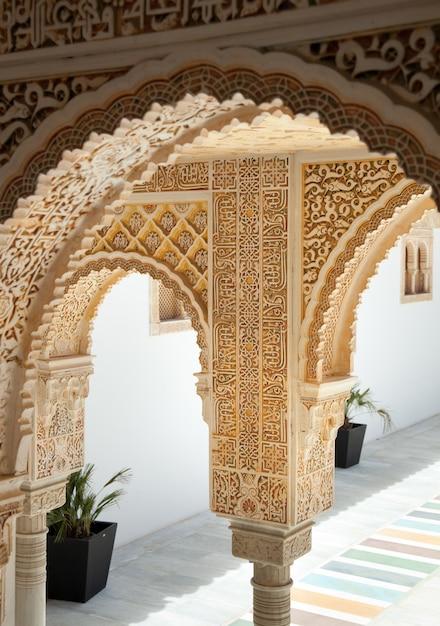 Alhambra van poble espanyol in palma de mallorca Premium Foto