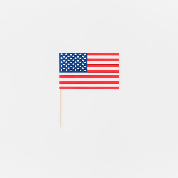 Amerikaanse vlag voor independence day Gratis Foto