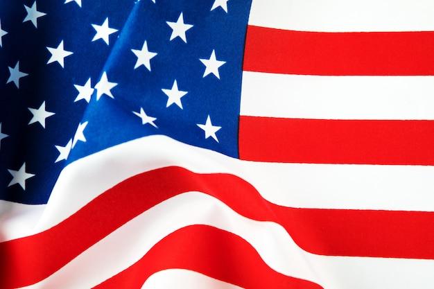 Amerikaanse vlag Premium Foto