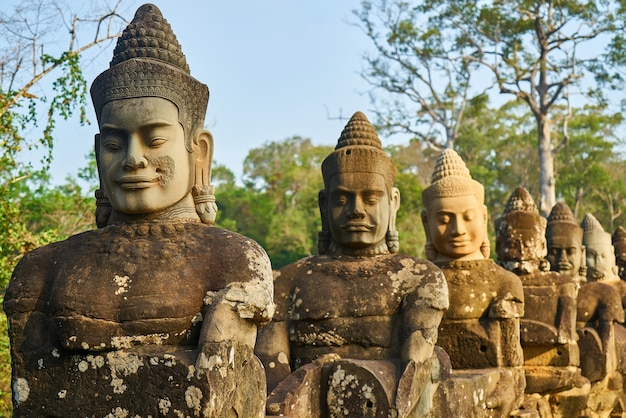 Angkor wat tempel Gratis Foto