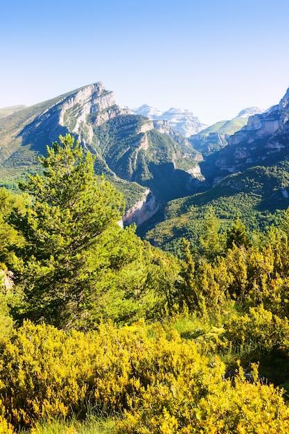 Anisclo canyon in de zomer Gratis Foto