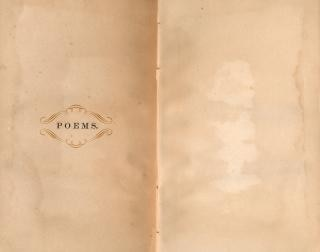 Antiek gedichten papieren sjabloon Gratis Foto