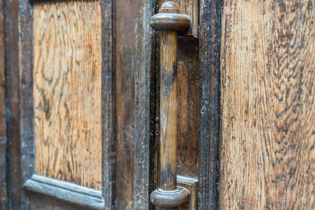 Antieke deurklink Premium Foto