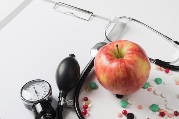 Apple en medic apparatuur Gratis Foto