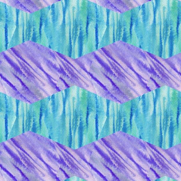 Aquarel naadloze patroon textuur. modern ontwerp. Premium Foto