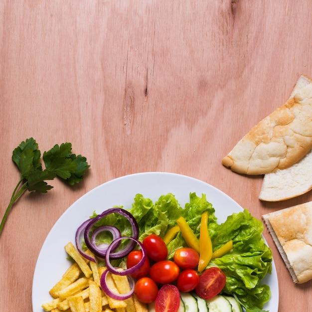 Arabische kebab sandwich kopie ruimte Gratis Foto