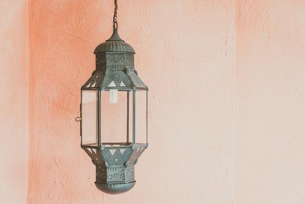 Arabische lantaarn decoratie ontwerp Gratis Foto