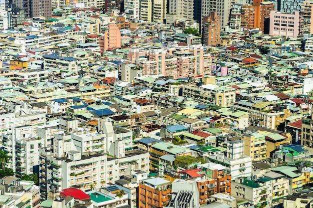 Architectuur de bouwbuitenkant in de stad van taipeh in taiwan Gratis Foto
