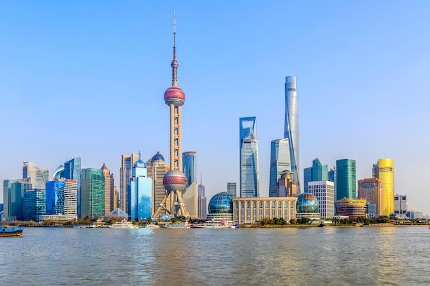 Architectuur metropool financiële aziatische bezienswaardigheden parken Gratis Foto