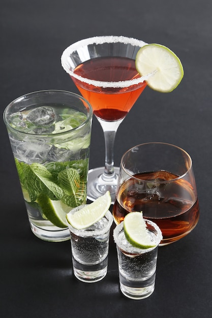 Assortiment cocktails Gratis Foto
