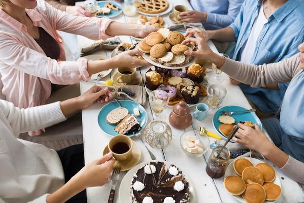 Assortiment van desserts Gratis Foto