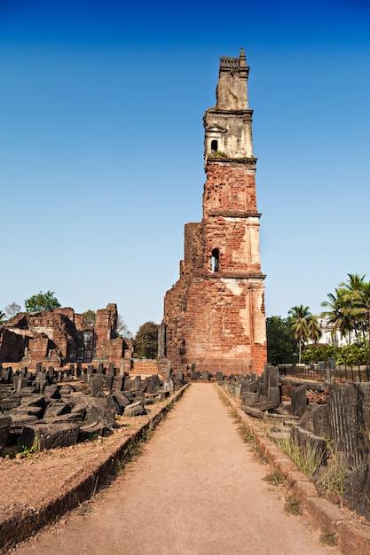 Augustinus ruïnes Premium Foto