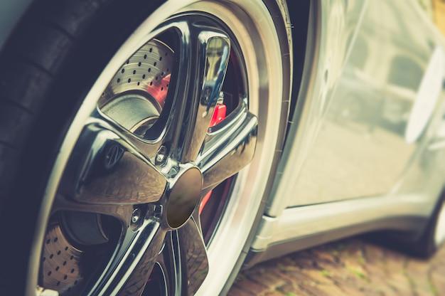 Auto in vintage effect Premium Foto