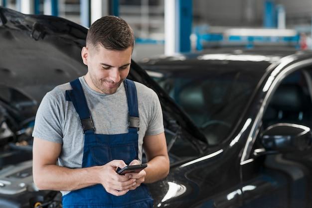 Auto reparatie bedrijfssamenstelling Gratis Foto