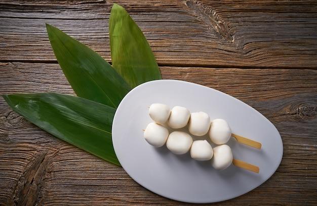 Aziatische kleefrijst dumplings vietnamese Premium Foto