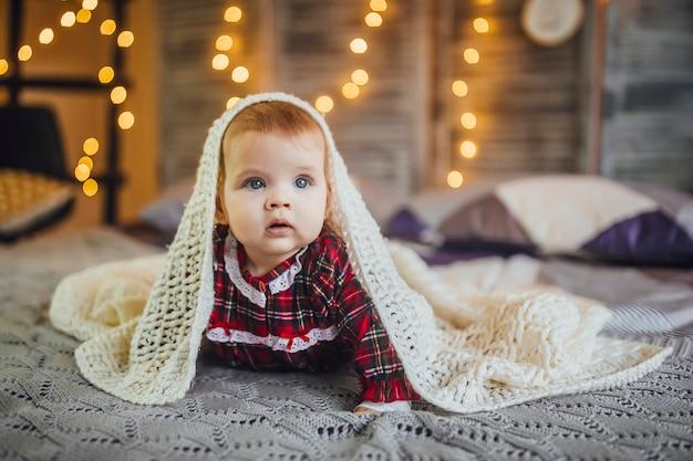 Baby meisje Premium Foto